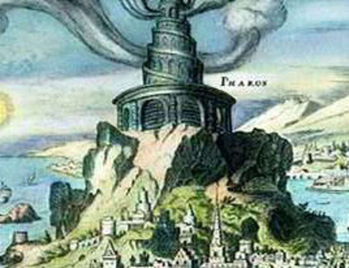 Lighthouse of Alexandria - One of the 7 Ancient Wonders of the World