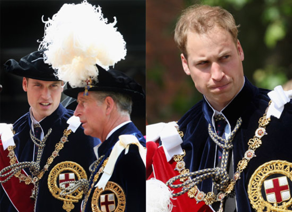 Prince Williams  Order of the Garter