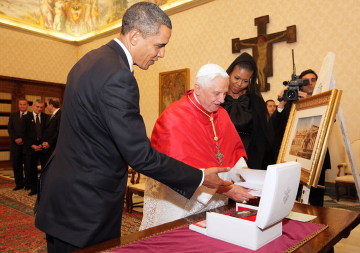USA President and Pope