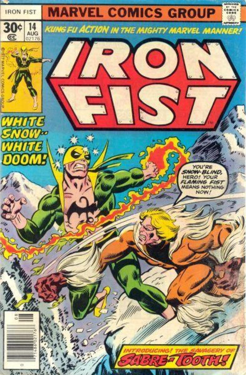 1st Appearance of Sabretooth!