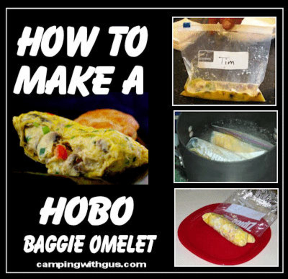 Hobo Baggie Omelets: Easy Camping Recipes for Kids