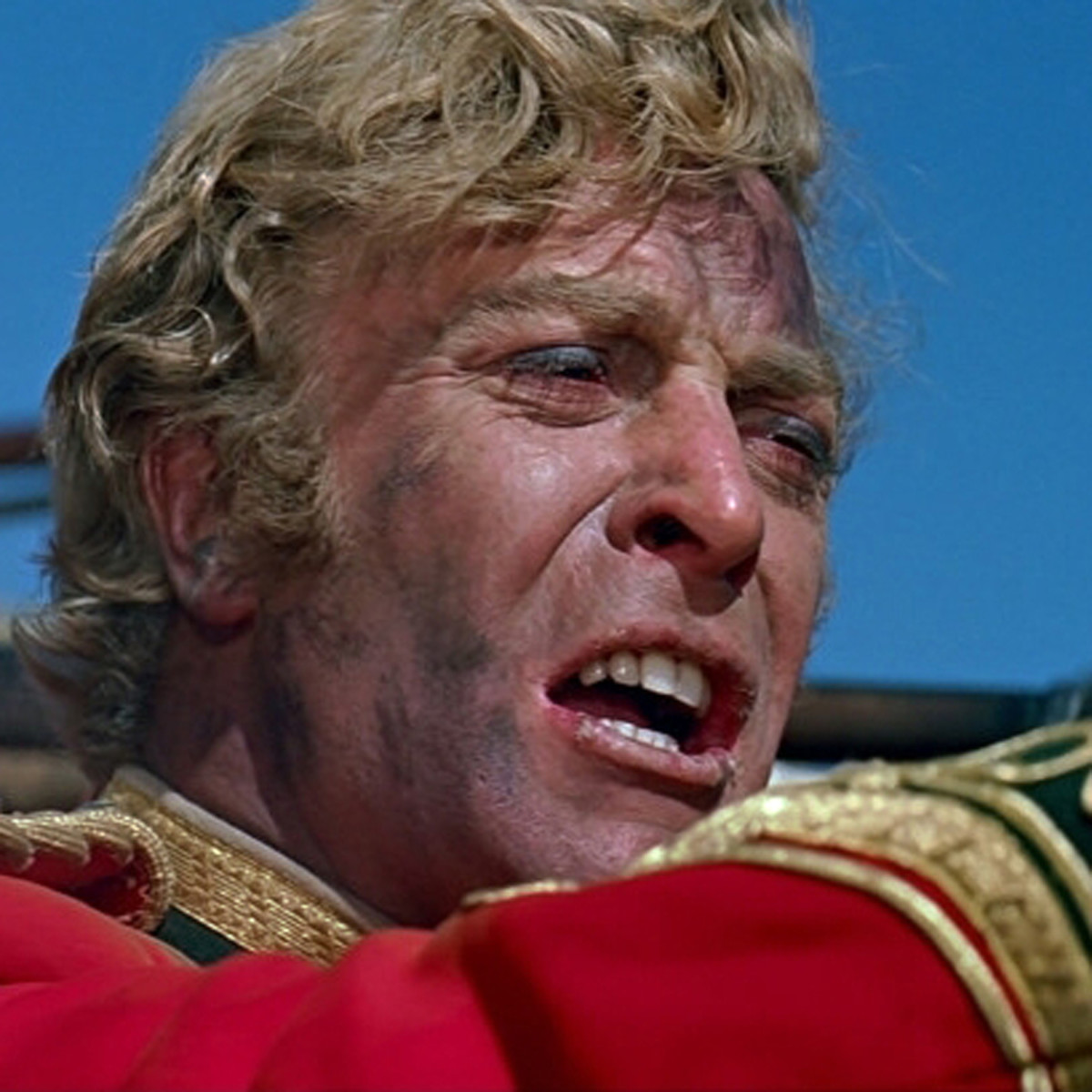 Michael Caine in his first starring role