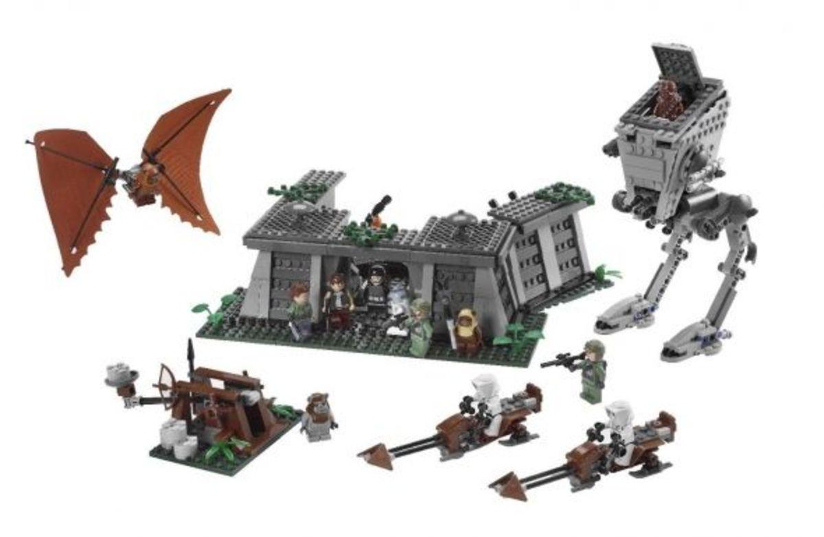 Lego Star Wars Battle Of Endor Complete Set