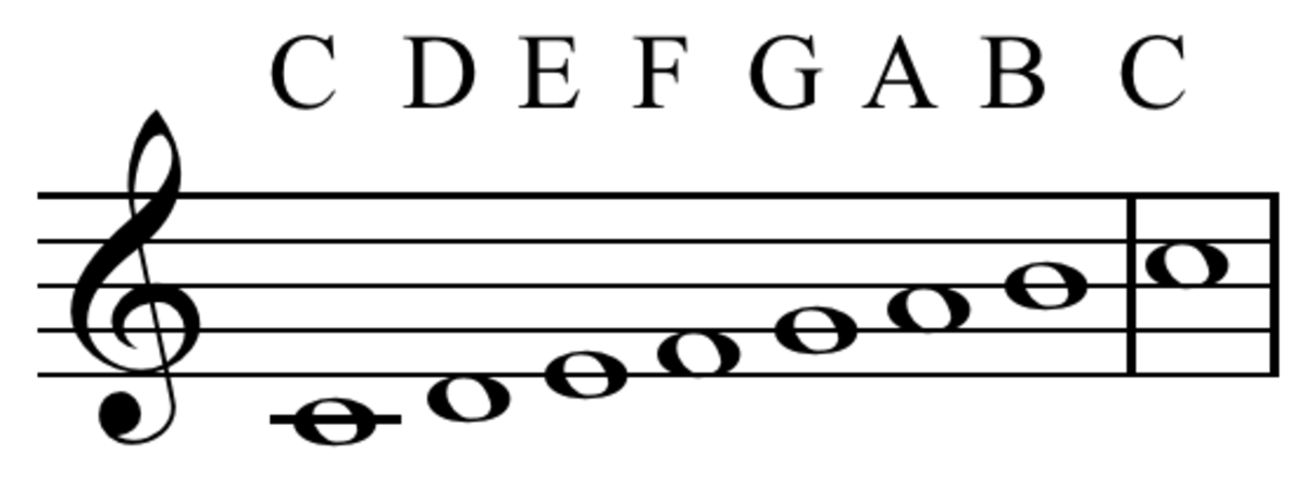 C Major scale: One of the first that many trumpet players learn
