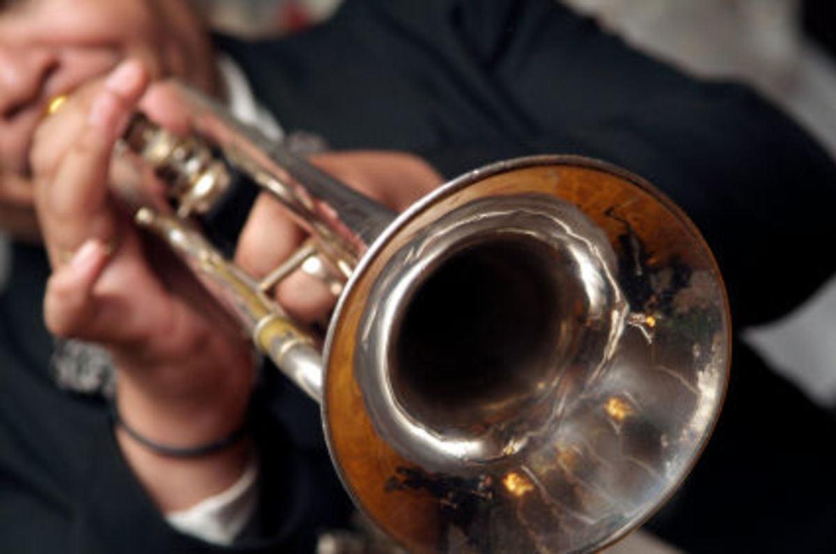 How to play C Major scale notes on trumpet
