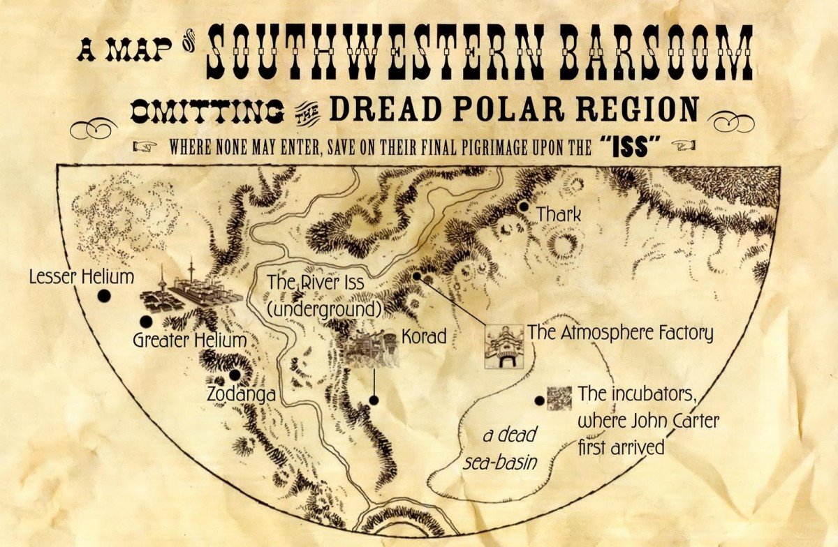Map of Barsoom