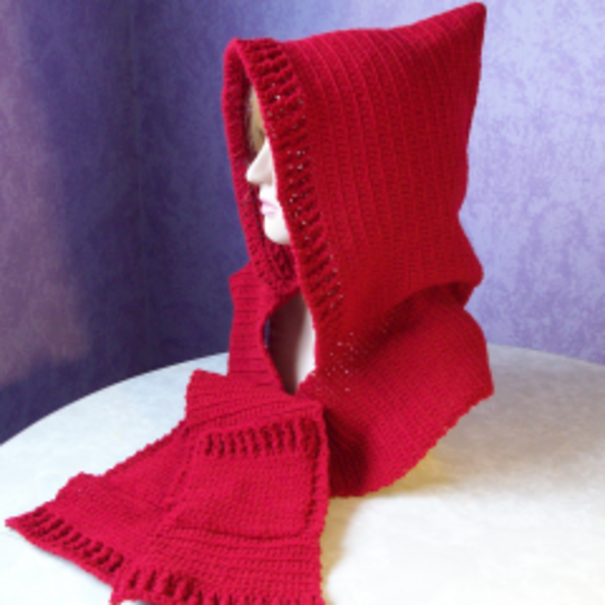 Free Crochet Patterns for Hooded Scarves
