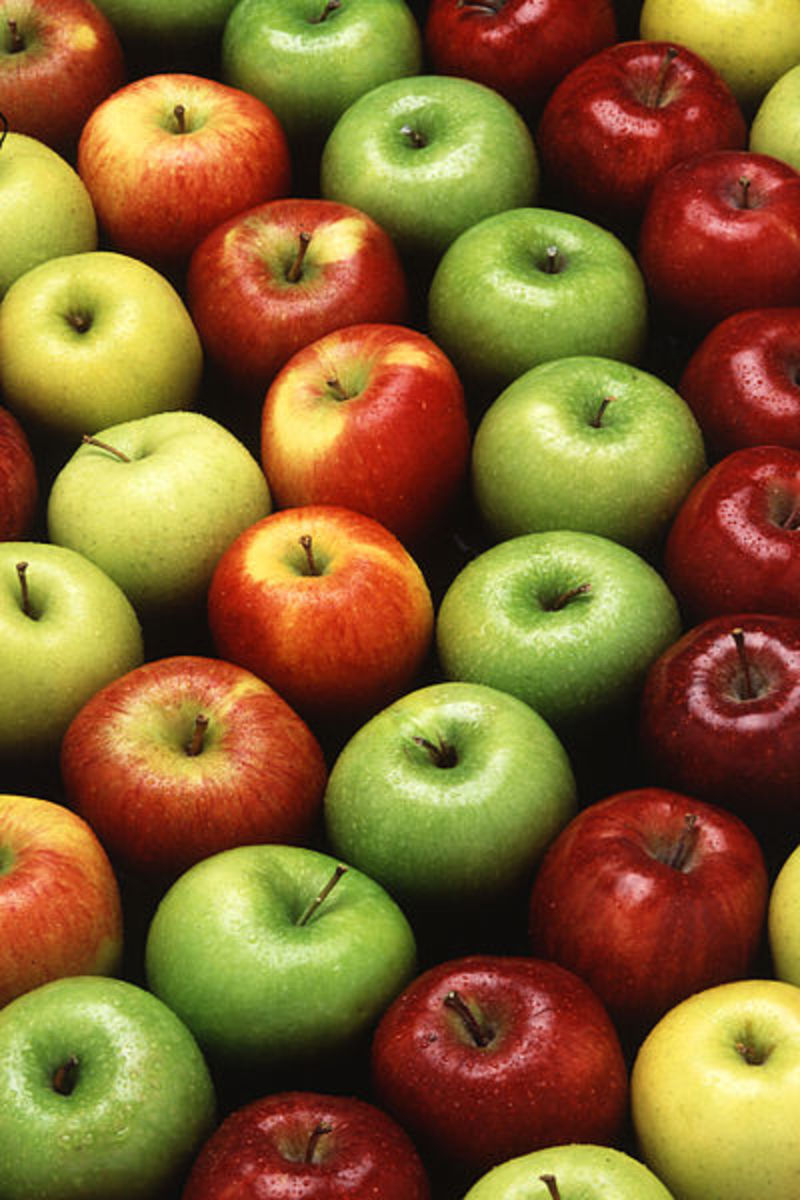 There are more than eight thousand varieties of apples!