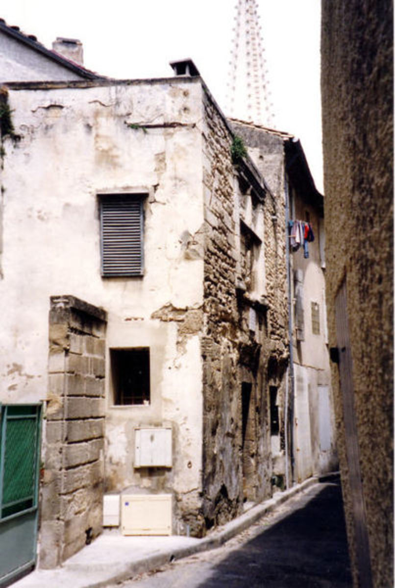 Nostradamus's birthplace before the latest renovations