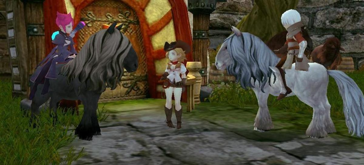 Dragon Nest - How to Get a Mount