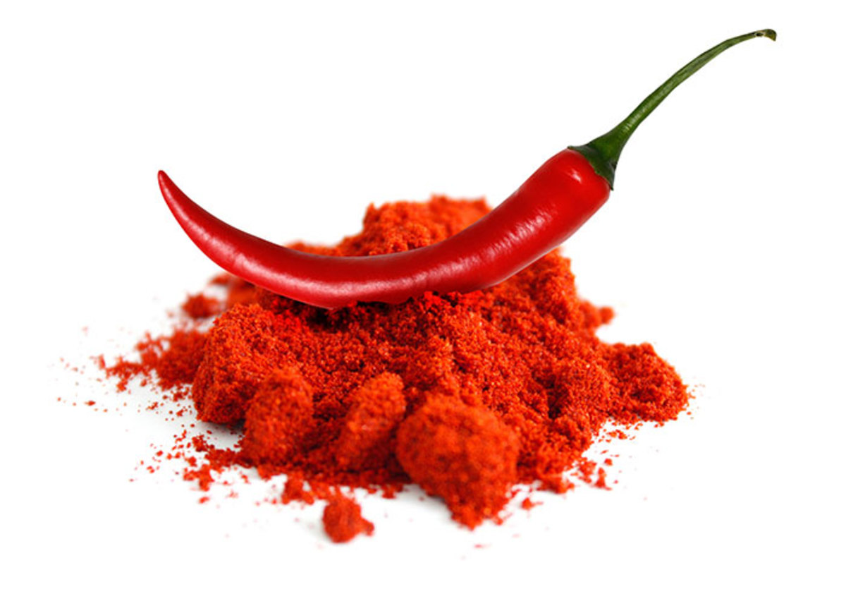 Cayenne Never Go Anywhere Without It!