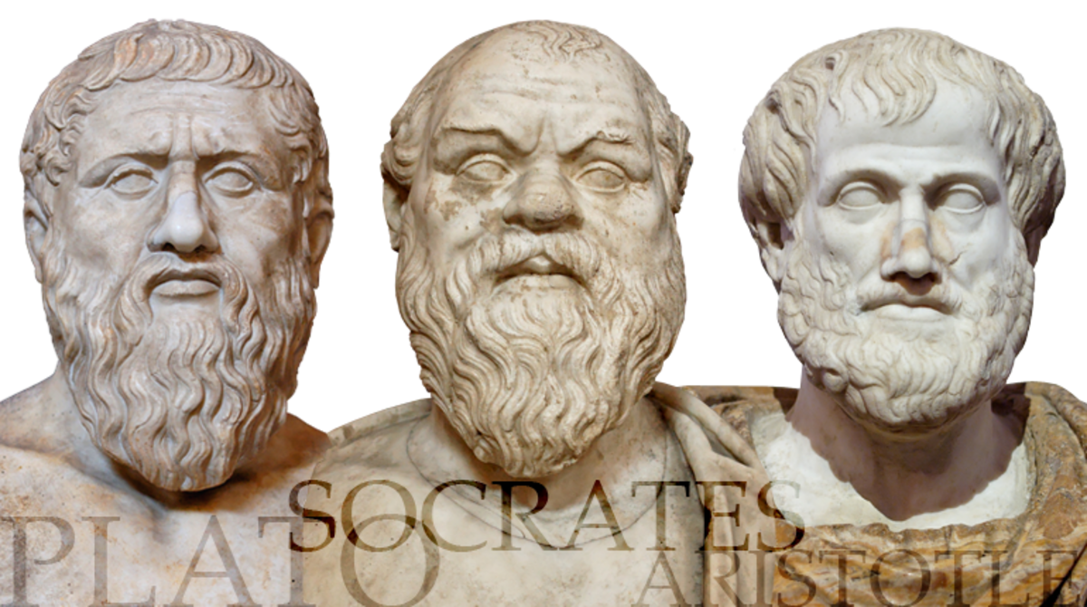 The Fathers of Western Thought.  They spoke Greek and wore dresses.