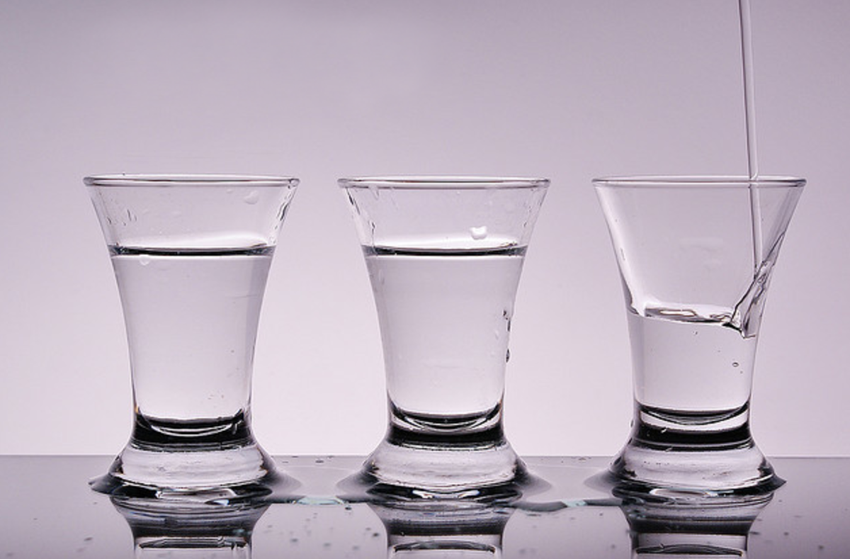 A brief history of vodka and how to host a vodka tasting.