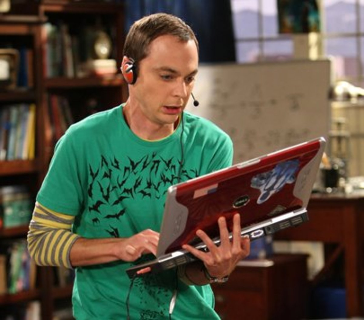 Dr. Sheldon Cooper aka Sheldor of Azeroth in World of Warcraft or Sheldor the Conqueror in Age of Conan