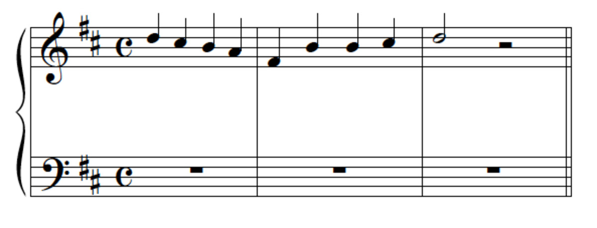 Question 10 melody (repeated)