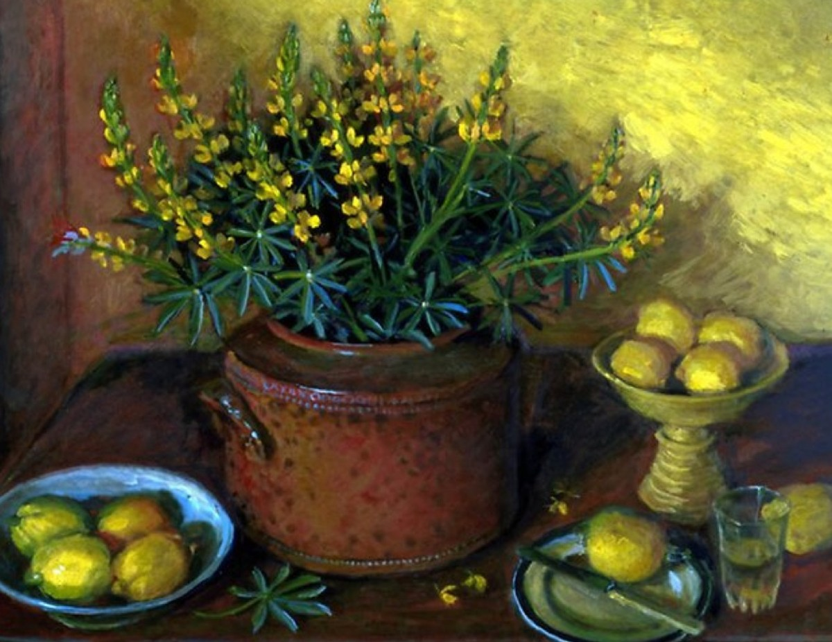 How to paint like Margaret Olley: the artists palette, studio and 19 tips on Olley's painting style
