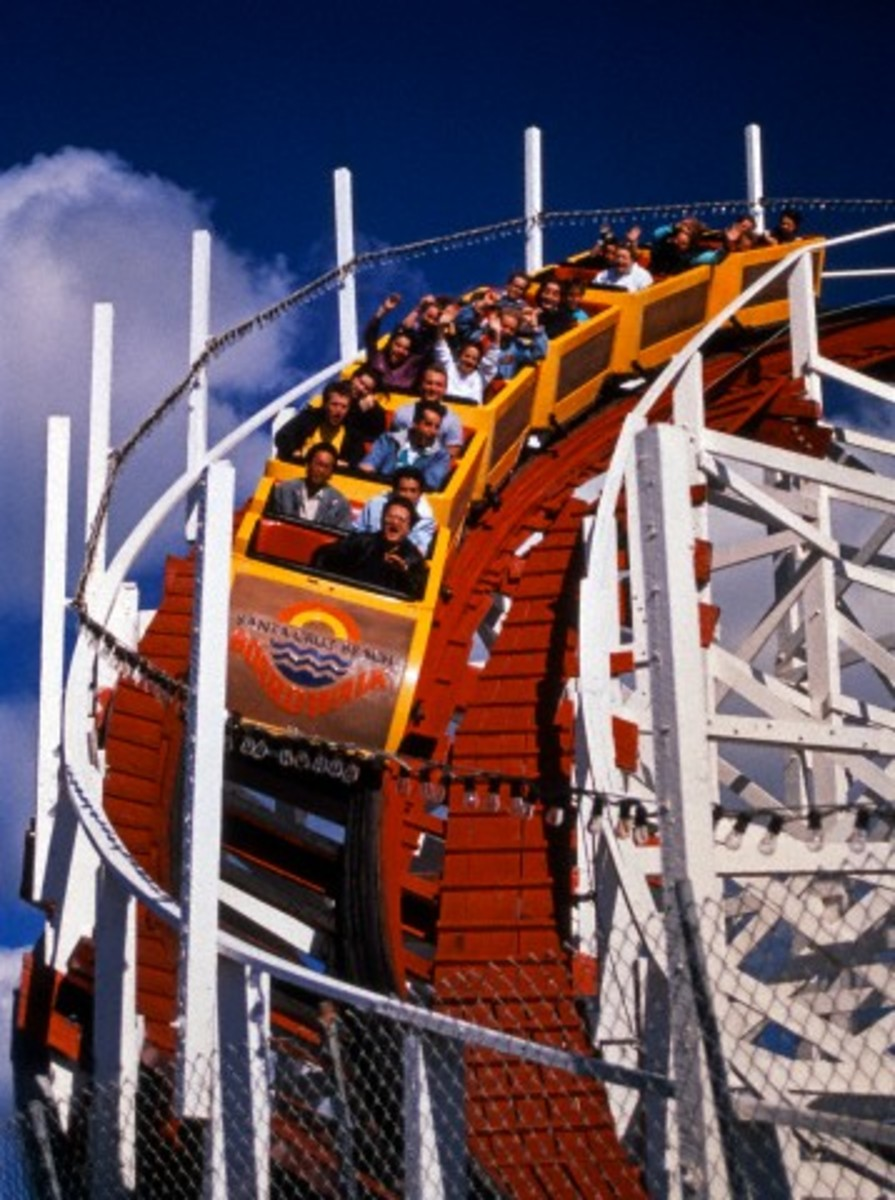 How does a roller coaster work? - the physics of circular motion