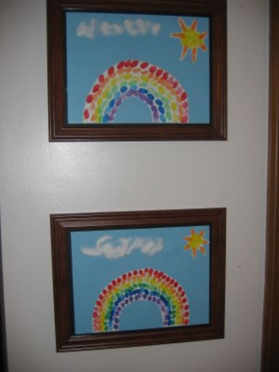 Finger Print Rainbow