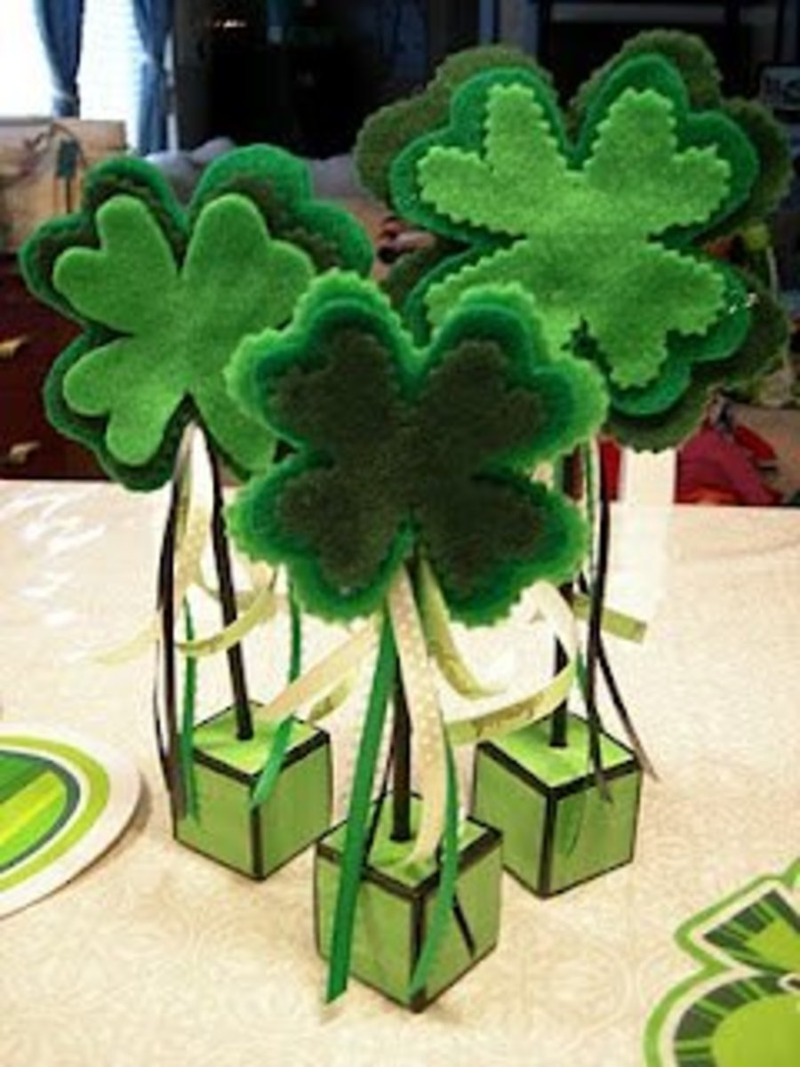 Shamrock Topiaries