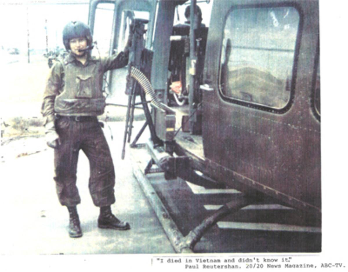 Paul Reutershan - Vietnam helicopter pilot