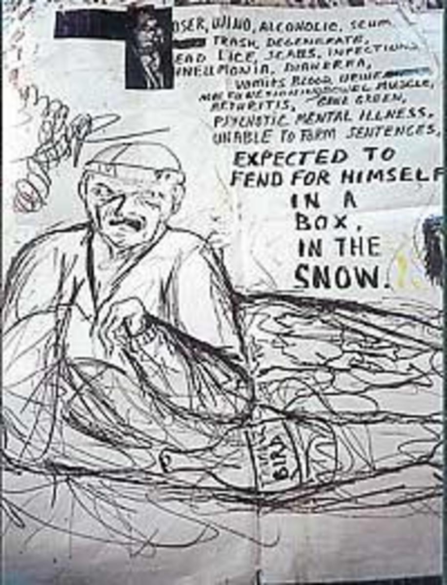 a Cobain drawing