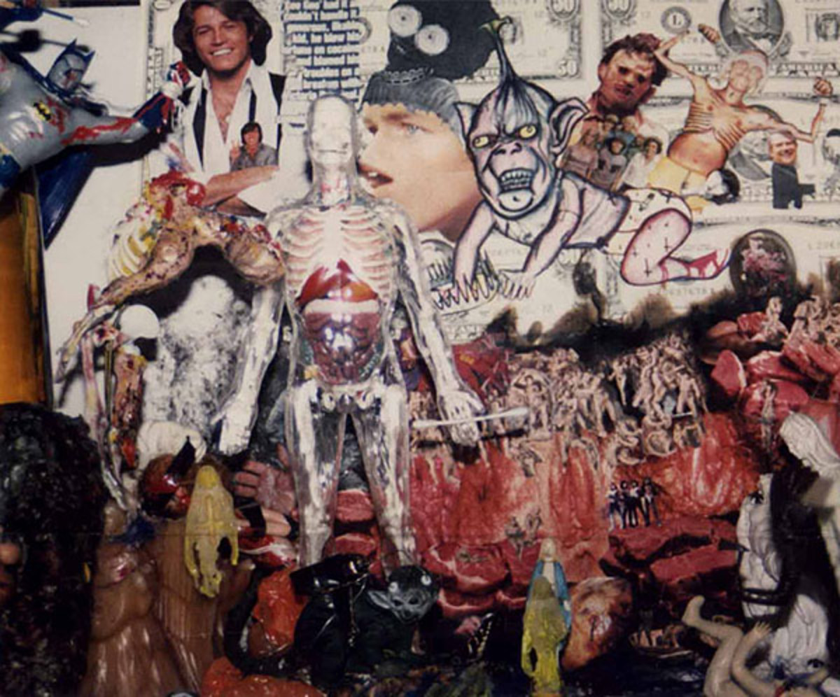 a Cobain collage