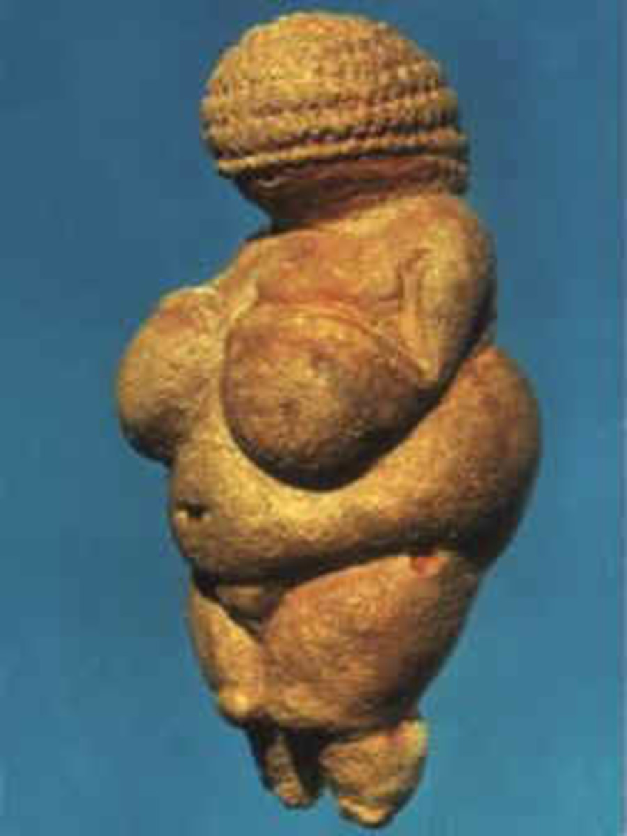 Were these ancient fat women female divers?