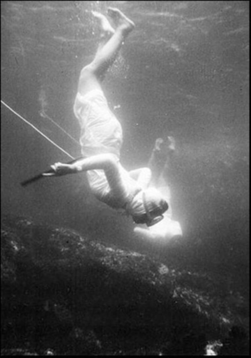 Japanese Ama Diver