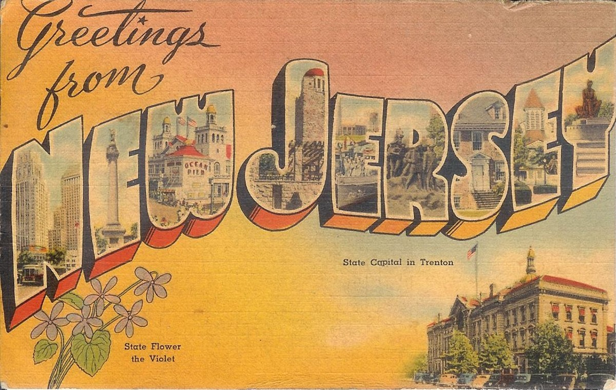 Vintage Postcards of New Jersey