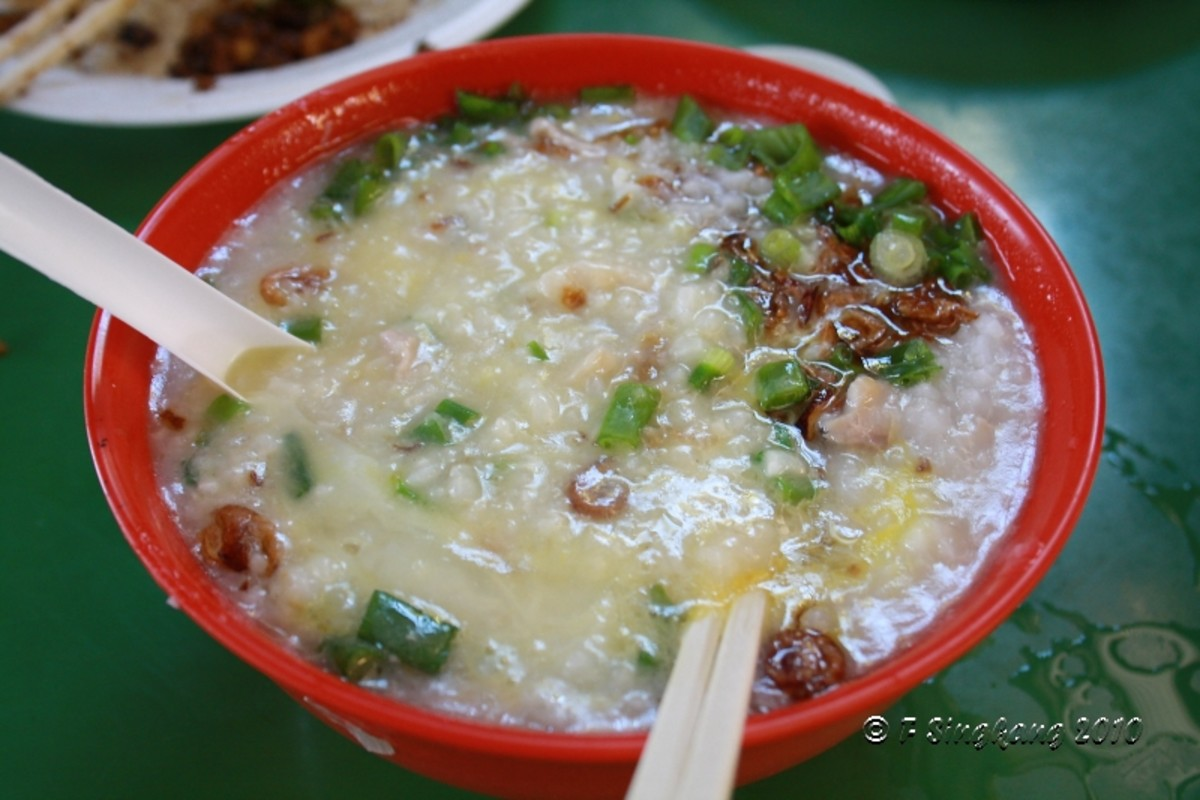 Vietnamese Fish Porridge/Rice Soup Recipe (Chao Ca)