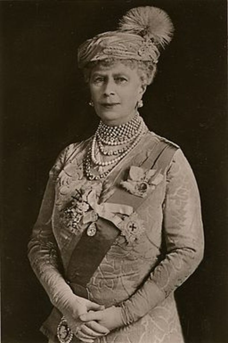 Queen Mary, Wife of George V1