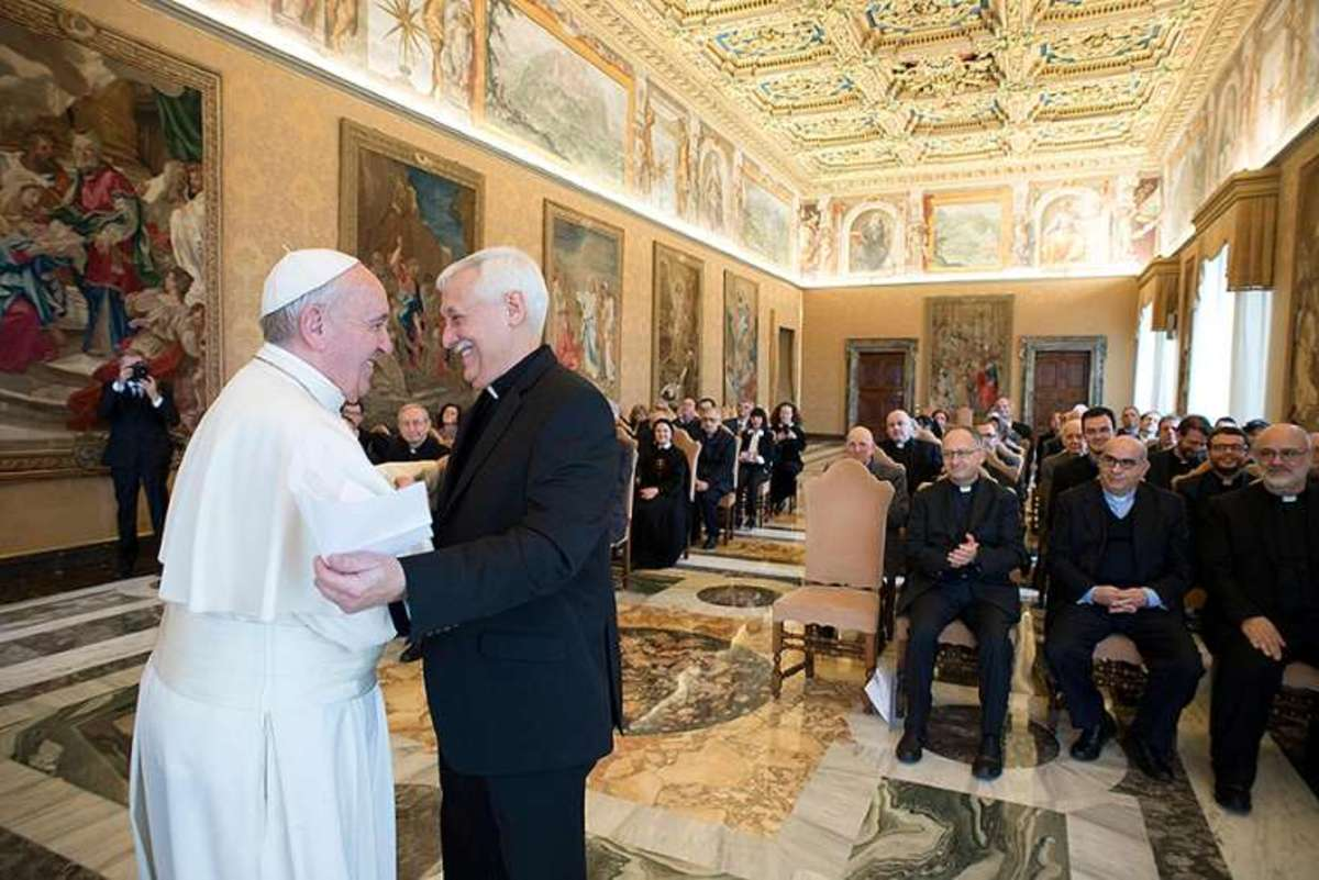 Arturo Marcelino Sosa Abascal born in Caracas, Venezuela, on 12 November 1948 new superior general with Pope Francis.