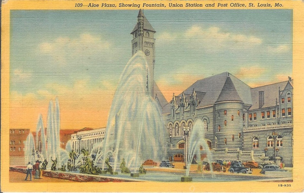 Vintage Postcards Of The 1940s