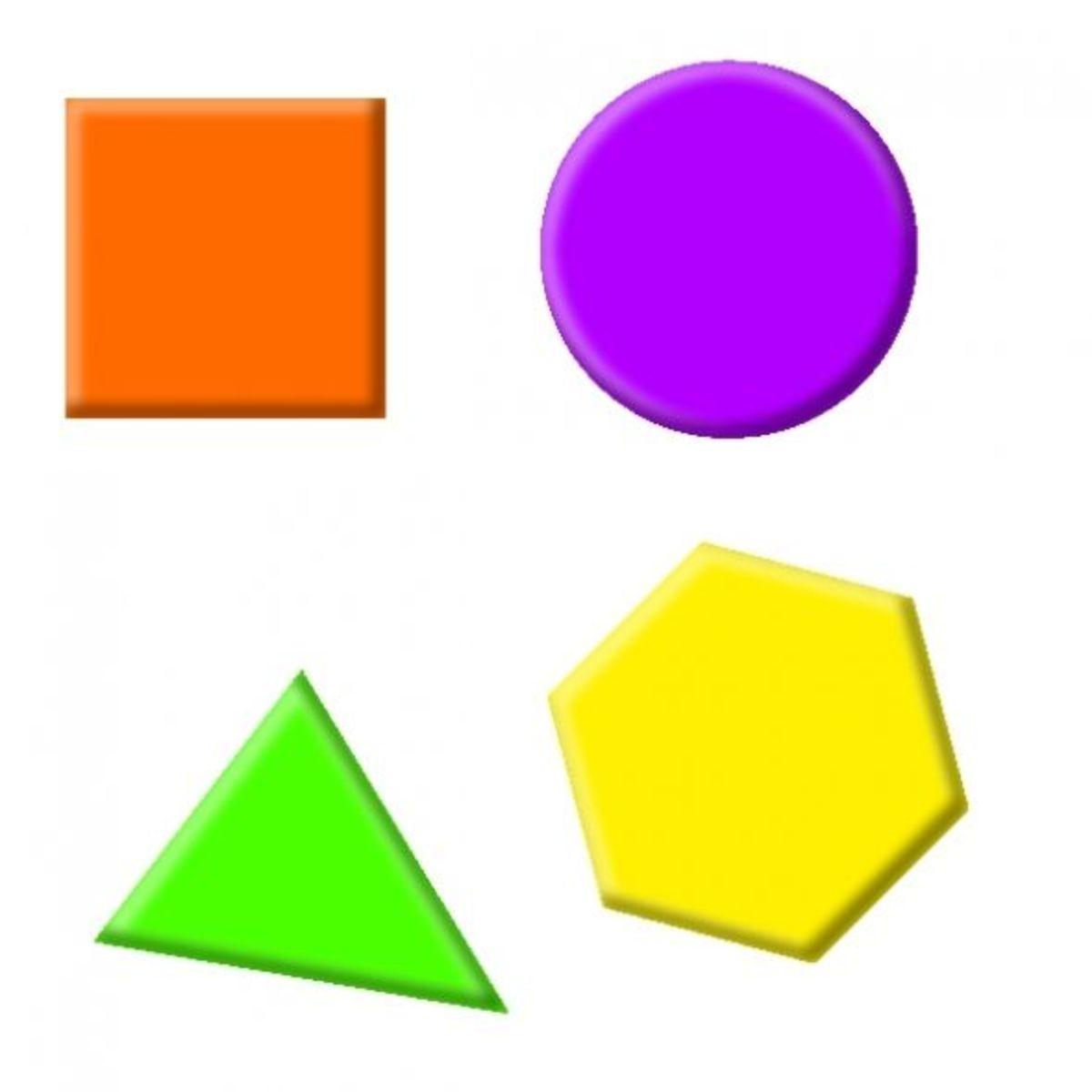 printable shape games