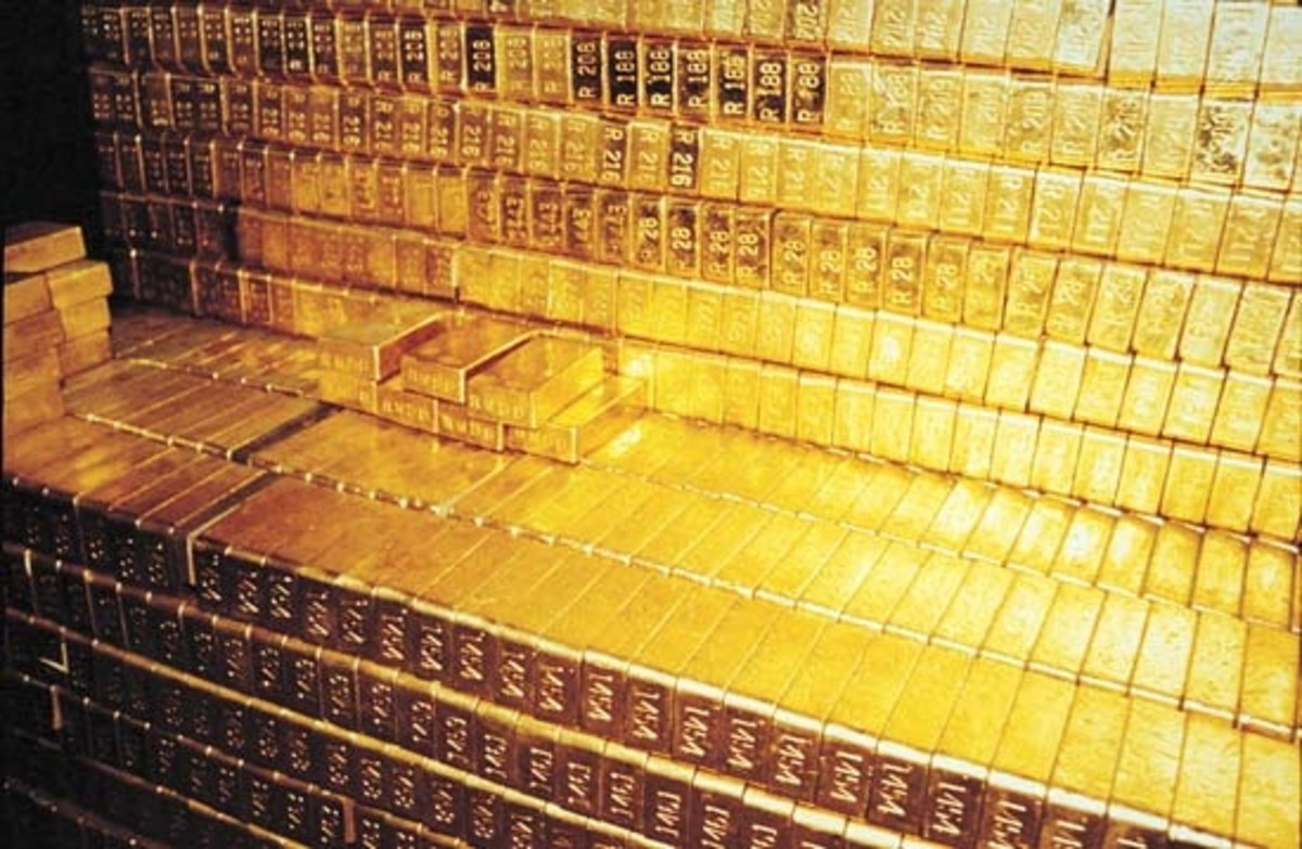 In 1933, President Roosevelt said that Americans were no longer allowed to own gold, and forced them to sell it to the Federal Reserve. So, the United States built the Federal Bullion Depository to store it.