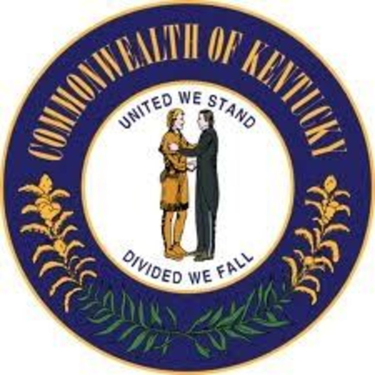 State Seal: On Flag