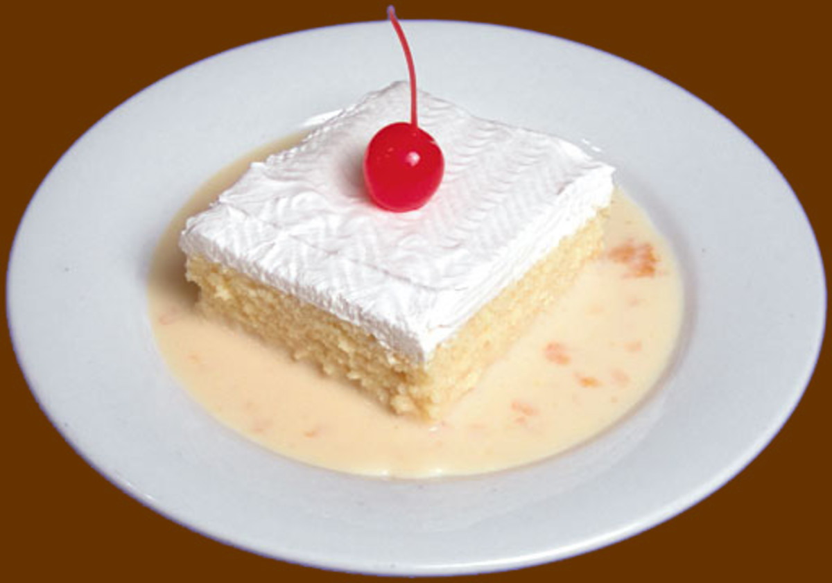 The classic Tres Leches
