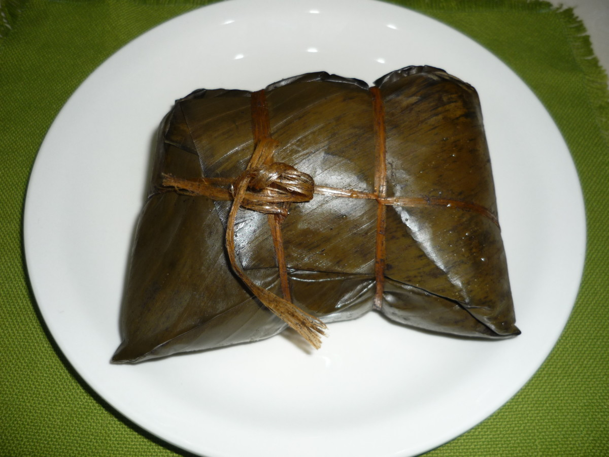 The Nacatamal, packaged and waiting