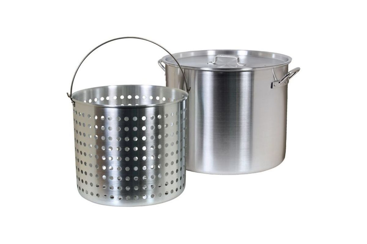 This is a gumbo pot and strainer