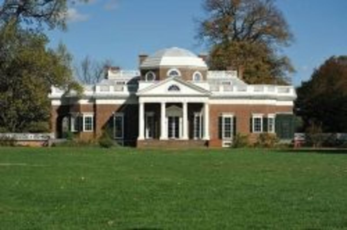 Monticello - Home of Thomas Jefferson