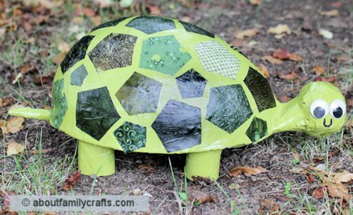 42 Fun Frog and Turtle Craft Ideas