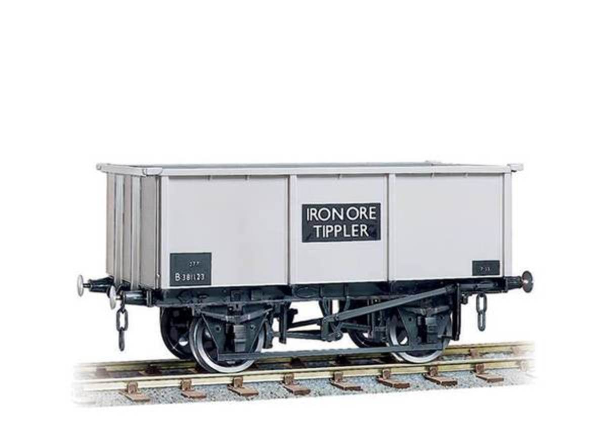 In their 'Wonderful Wagons' range, here's a Peco model of the British Railways' 27 ton Iron Ore Tippler with three link couplings - also a Smiths product available through various outlets