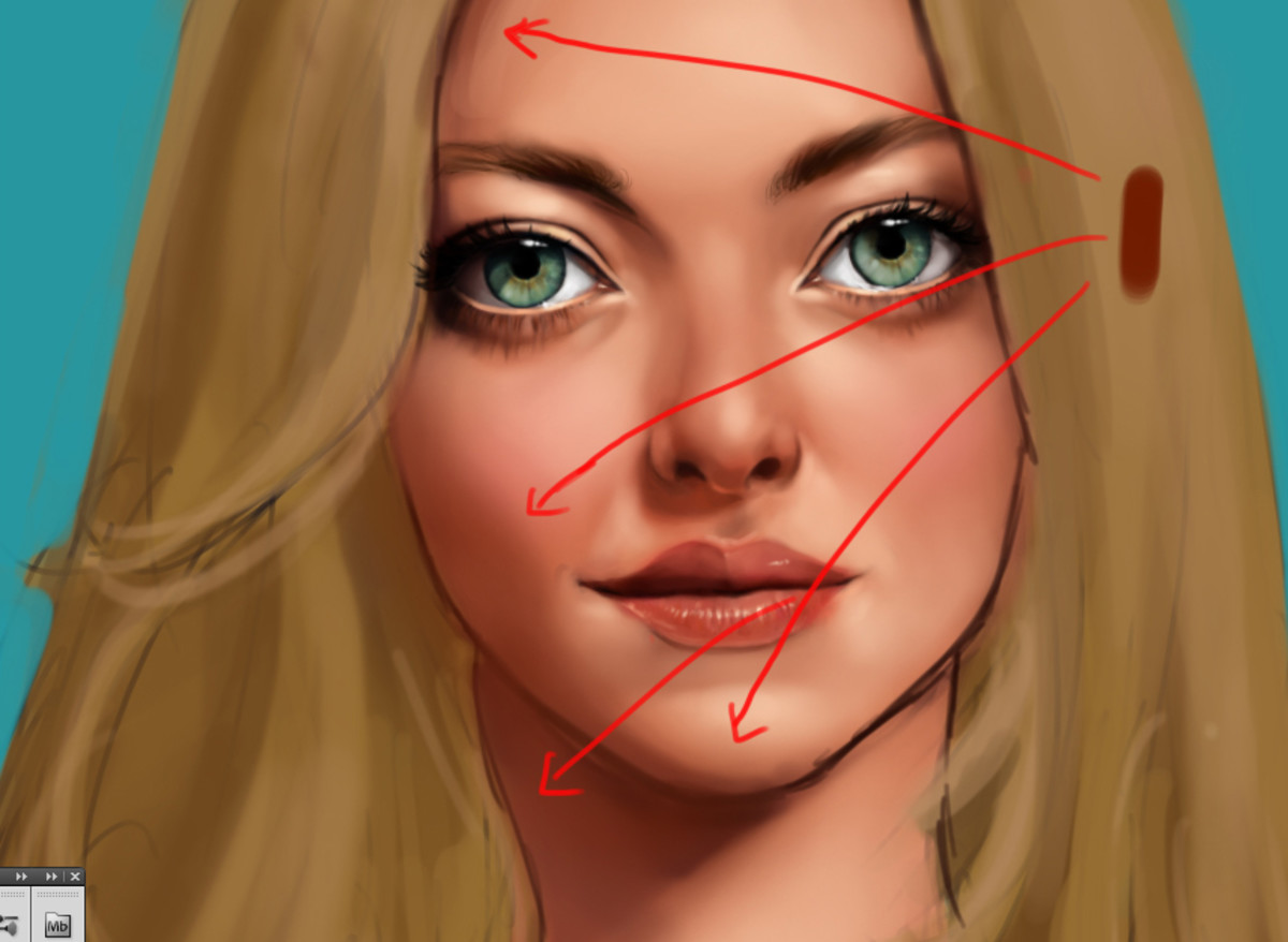 How To Create Beautiful Realistic Face Shading Using