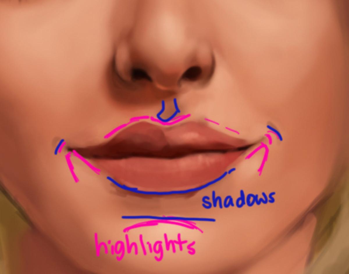 How To Create Beautiful, Realistic Face Shading using Digital Art