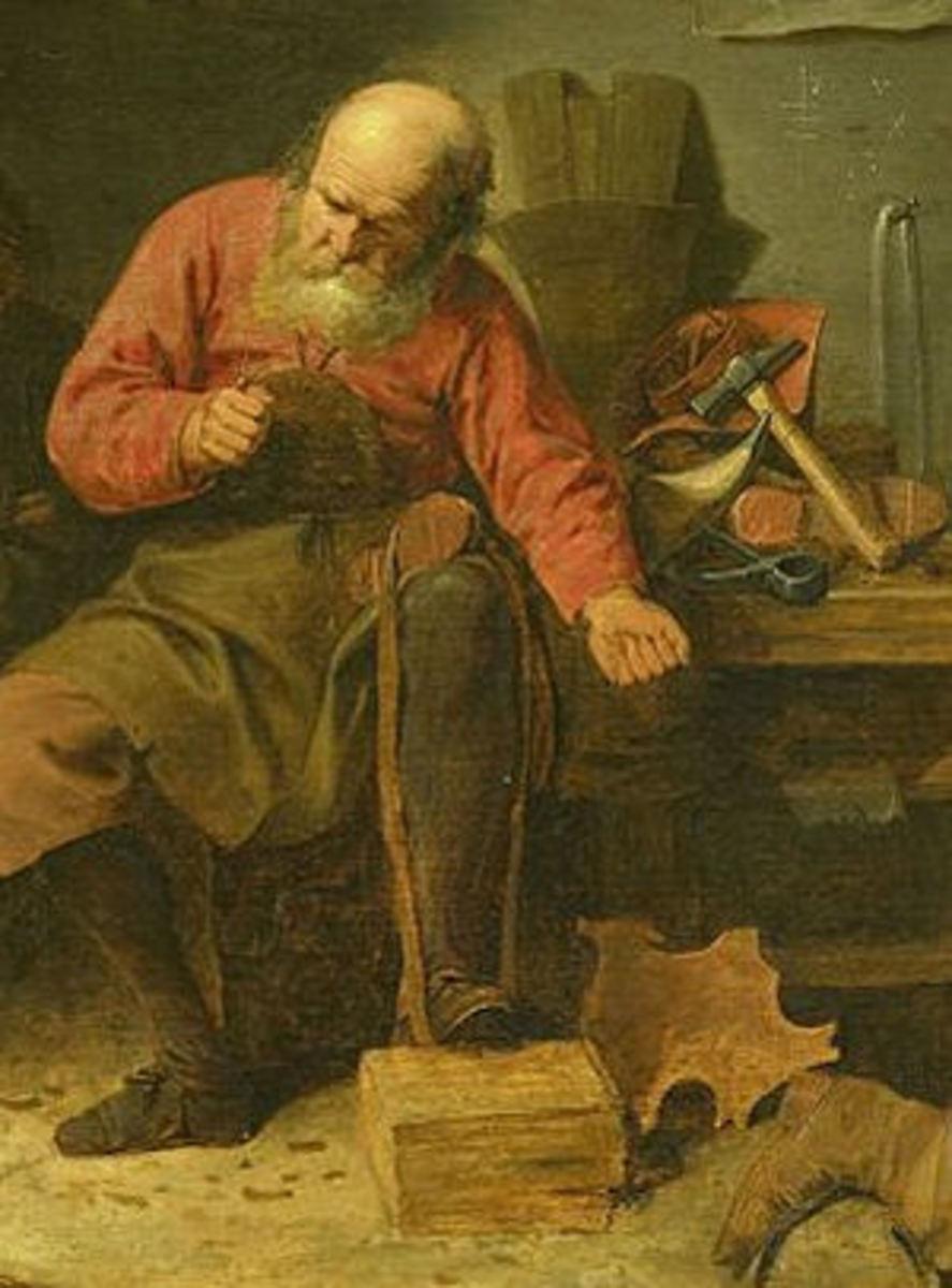 Leprechaun Shoemaker