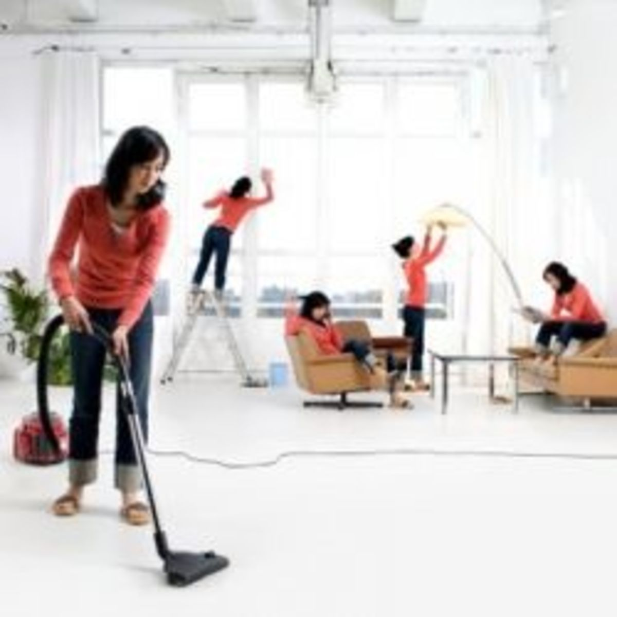 OCD Cleaning Germaphobe OUTFOX Prevention