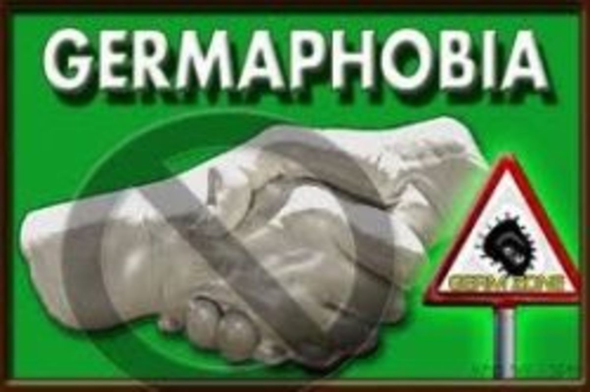 how to get rid of germaphobia