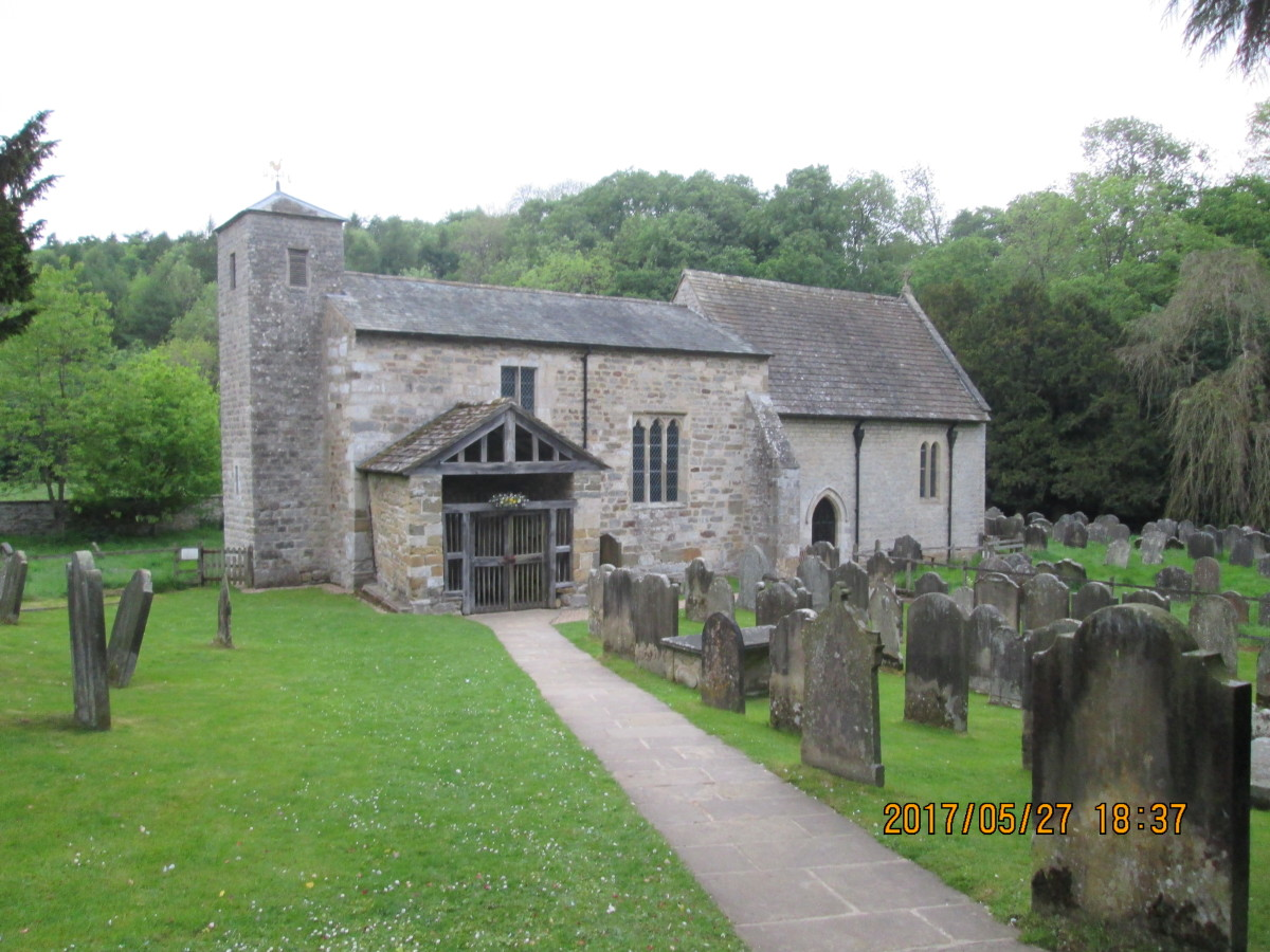 St Gregory's Minster in Kirkdale near Kirkbymoorside on the southern edge of the, North Yorkhire Moors