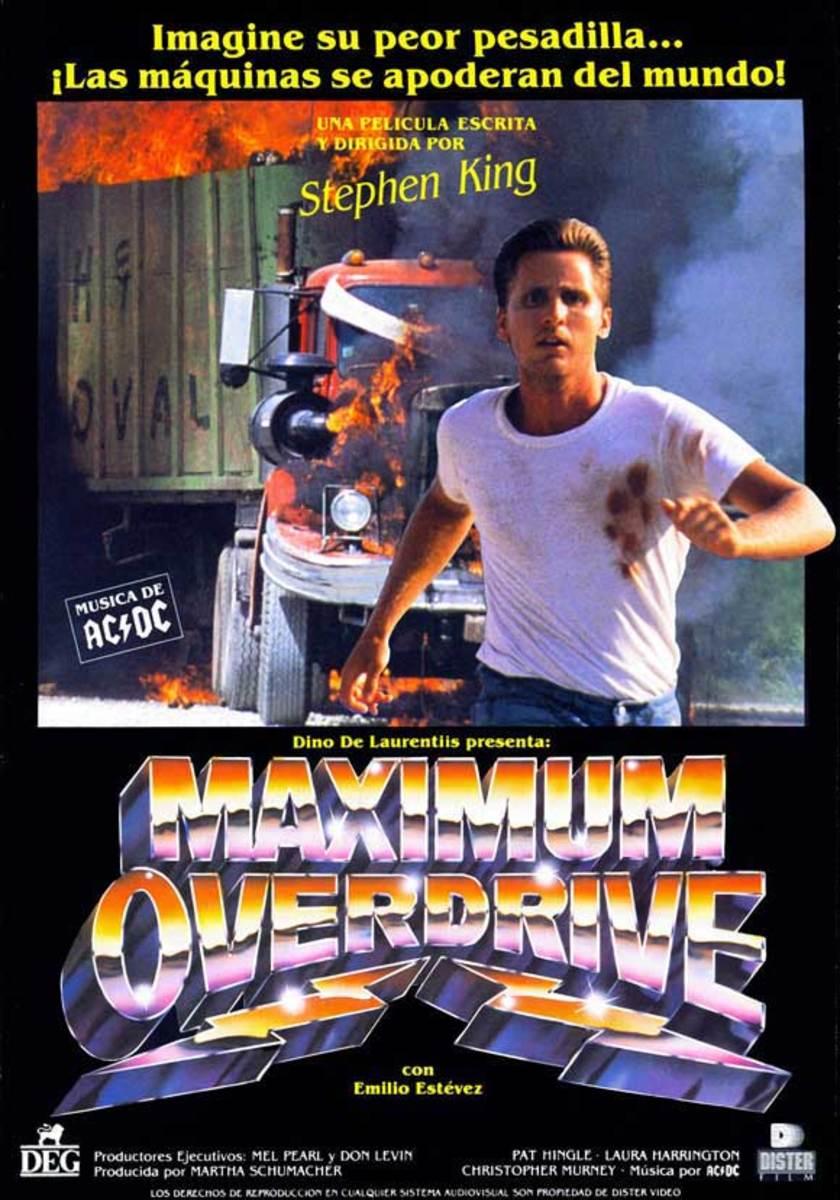 Maximum Overdrive (1986) poster