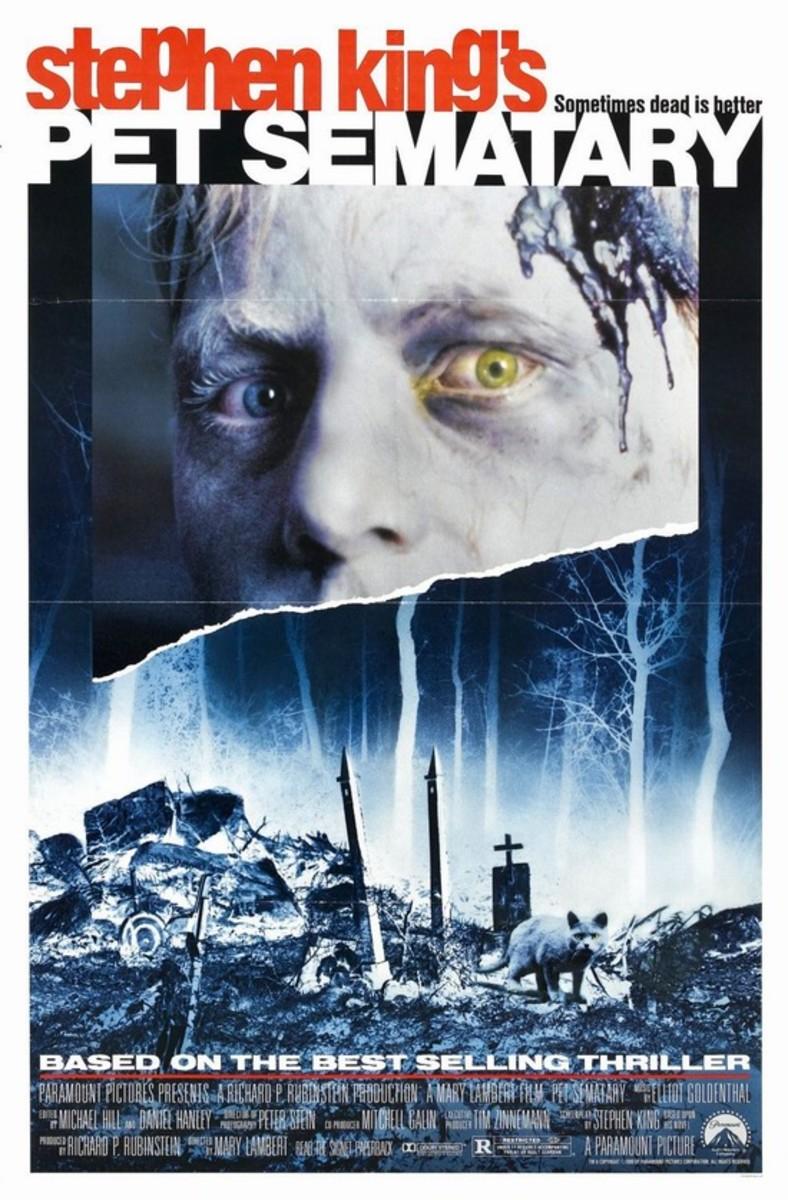 Pet Sematary (1989) poster